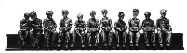 Ironworker Sculpture